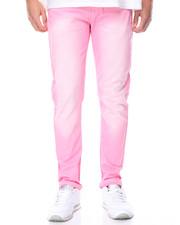 WT02 - Stretch Twill Color Dye Skinny Jean