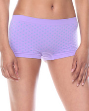 Women - Dot Textured/Stripe/Solid Seamless 3Pk Shorts