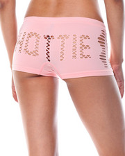 Women - Hottie Cut Outs/Space Dye  Seamless 3Pk Shorts