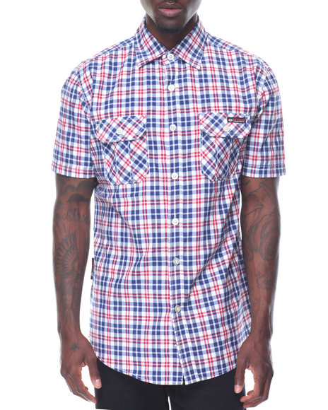 Enyce - Plaid S/S Button-Down