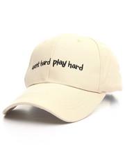 """Fashion Lab - """"Work Hard, Play Hard"""" Cap"""