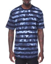Men - S/S Tie Dye Stripe Tee