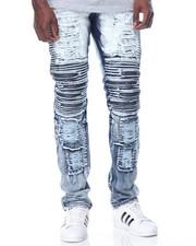 Jeans & Pants - Cloud - Wash Denim Jeans