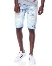 Men - Wave - Wash Denim Shorts
