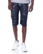 Men - Print - Wash Foil  Denim Short