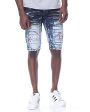 Men - Wave - Wash Denim Shorts