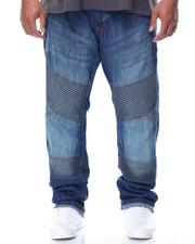 Men - Side Zipper Moto Jean (B&T)