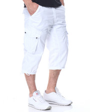 Men - Long Cargo Shorts