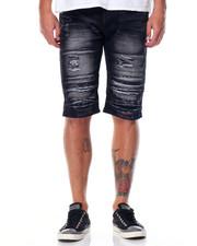 Men - Slit 5 - Pocket Denim Shorts