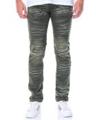 Rip - And - Repair Moto Denim Jeans