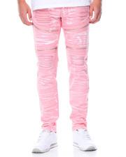 Jeans & Pants - Rip - And - Repair Moto Denim Jeans