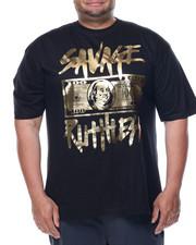Shirts - Savage Ruthless Foil Print Tee(B&T)