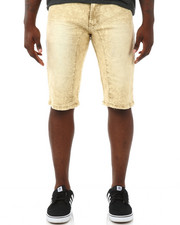 Men - Pastel 5 Pocket Stretch Denim Shorts