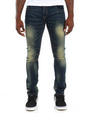 Men - Shadow Trim 5-Pocket Stretch Denim Jeans