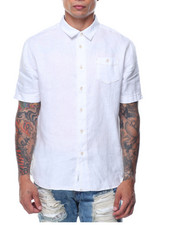 Basic Essentials - Isla Marina S/S Linen Shirt