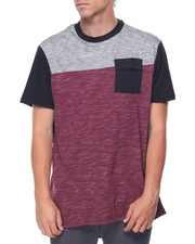 Akademiks - S/S Colorblock Extended Tail Tee