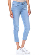 Levi's - 535 Cropped Super Skinny Denim Jeans