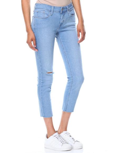 Levi's - 535 Cropped Super Skinny Denim Jeans