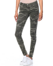 Bottoms - Camo 535 Super Skinny Camouflage Jeans