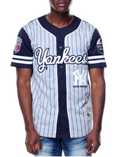 Stall & Dean - Black Yankees Nylon Baseball Jersey