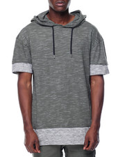 T-Shirts - S/S Colorblock Hoodie