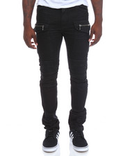 SMOKE RISE - Cargo Twill Jeans