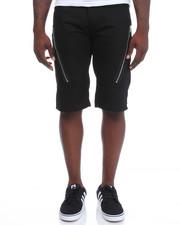 Men - Zip Trim Twill Shorts