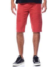 Men - Pleated Twill Shorts