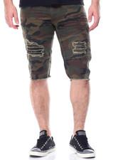 Men - Denim Motto Shorts
