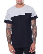 Shirts - S/S  2-Tone Pocket Tee