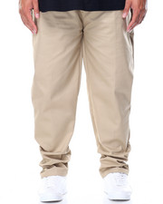 Pants - Flat Front Twill Pant (B&T)-2101093