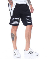 Men - Razor Slashed Shorts