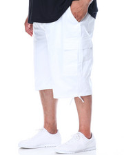 Cyber Monday Deals - Belted Cargo Shorts (B & T)-2101037