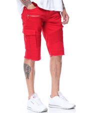 Shorts - Moto Zip Trim Cargo Pocket Shorts