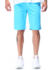 Men - Belted Solid Color Short