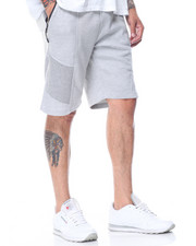 Basic Essentials - Tech Fleece Zipper Trim Shorts-2100594