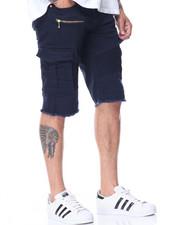 Jordan Craig - Moto Zip Trim Cargo Pocket Shorts