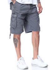 Shorts - Garment Dyed Fancy Cargo Pocket Shorts