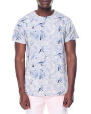 Spring-Summer-M - S/S All Over Print Crew Neck Tee