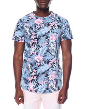 Shirts - S/S All Over Print Crew Neck Tee