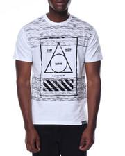 Shirts - S/S Scalloped Hem Graphic Tee