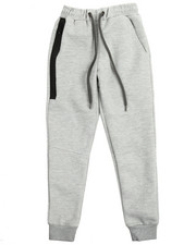Arcade Styles - Side Zip Pocketed French Terry Jogger (8-20)