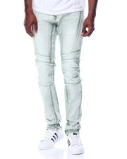 Men - Knee - Panel Washed - Down Stretch Twill Pants