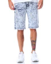 SWITCH - Destructed Denim Shorts