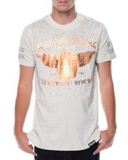 Shirts - S/S Rhinestones Graphic Tee