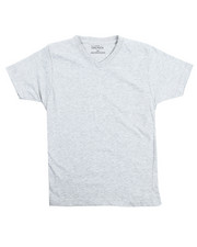 Tops - V-Neck Solid Tee (8-20)-2102224