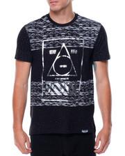 T-Shirts - S/S Scalloped Hem Graphic Tee