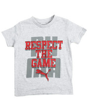 Tops - Respect The Game Tee (4-7)