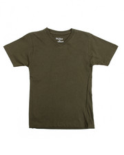 Boys - V-Neck Solid Tee (8-20)-2102065