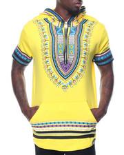 Shirts - S/S Tribal Printed Hoody